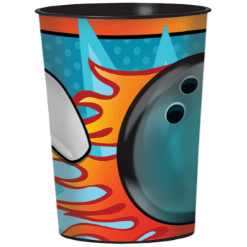 Picture of BOWLING - 16oz PLASTIC BOWLING CUP