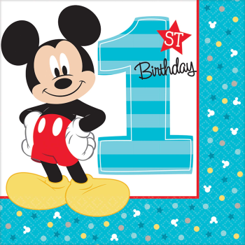 Image de MICKEY'S FUN TO BE ONE - LUNCHEON NAPKINS