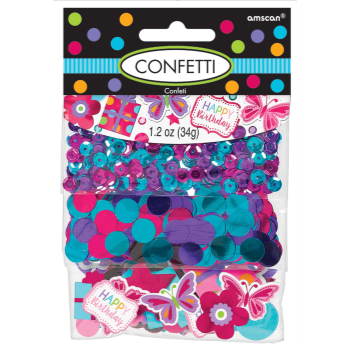 Picture of HAPPY BDAY BRIGHT CONFETTI VALUE PACK