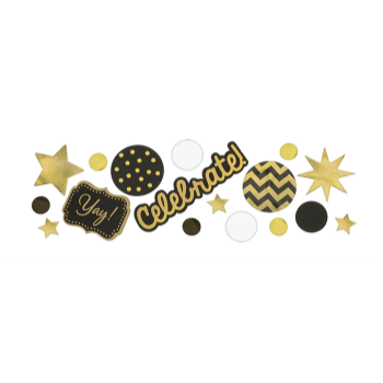 Picture of GOLD CELEBRATE CONFETTI VALUE PACK