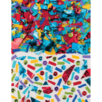 Picture of MIXED RAINBOW CONFETTI