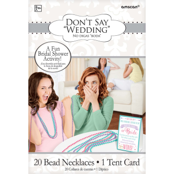 Picture of DON'T SAY BRIDE BEAD GAME
