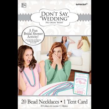 Image de DON'T SAY BRIDE BEAD GAME