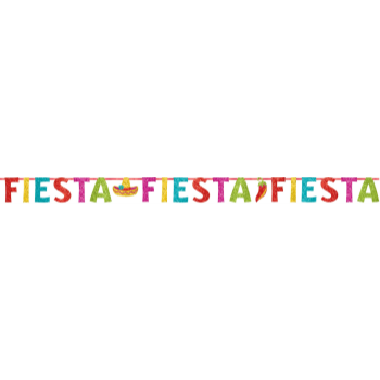 Picture of FIESTA GLITTER BANNER