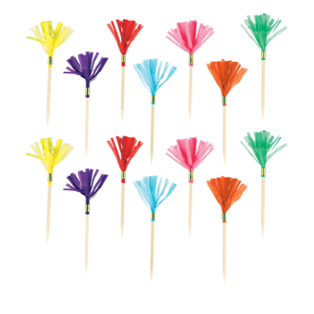 Picture of FRINGE PICKS - RAINBOW