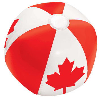 Picture of CANADA DAY BEACH BALL