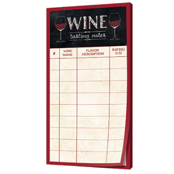 Picture of WINE TASTING SCORE SHEET