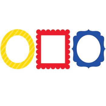 Picture of DECOR - PHOTO FRAMES - PRIMARY COLORS