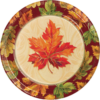 "Picture of FALL FLOURISH 9"" PLATES"