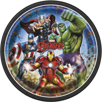 """Picture of AVENGERS - 9"""" ROUND PLATE"""