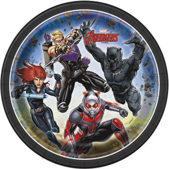 """Picture of AVENGERS - 7"""" ROUND PLATE"""