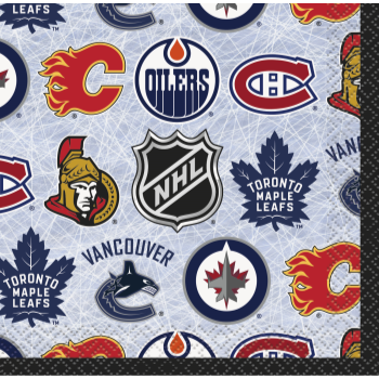 Picture of NHL BEVERAGE NAPKINS