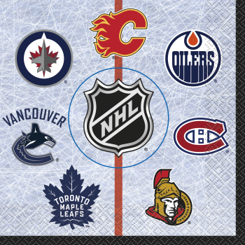 Picture of NHL LUNCHEON NAPKINS