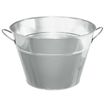 Picture of SILVER - METAL PARTY TUB
