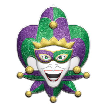 Picture of JESTER 3D GLITTER DECO