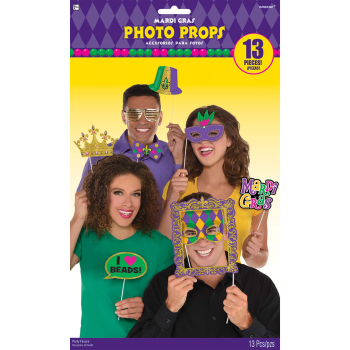 Picture of MARDIS GRAS PHOTO PROP KIT