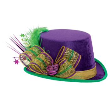 Picture of MARDI GRAS TOP HAT