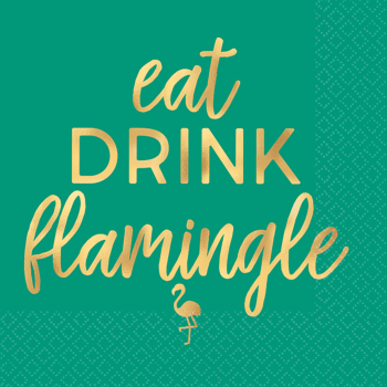 Picture of EAT DRINK FLAMINGLE BN