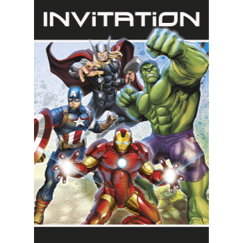 Picture of AVENGERS -  INVITES