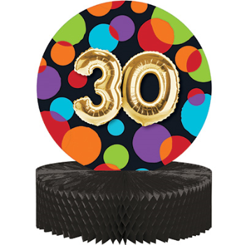 Picture of 30th BALLOON BIRTHDAY CENTERPIECE