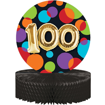 Picture of 100th - BALLOON BIRTHDAY - CENTERPIECE