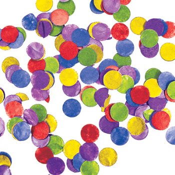 Image de TISSUE CONFETTI - MULTI COLOR