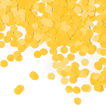 Picture of TISSUE CONFETTI - SCHOOL BUS YELLOW