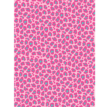 Picture of DECOR - PHOTO BACKDROP - PINK LEOPARD