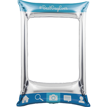 Picture of DECOR - INFLATABLE PHOTO FRAME SOCIAL SNAPS