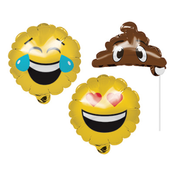 Picture of DECOR - INFLATABLE PHOTO PROP EMOJIONS