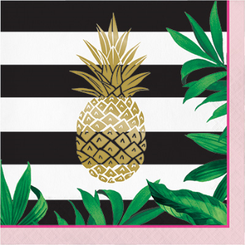 Picture of FOIL PINEAPPLE WEDDING LN