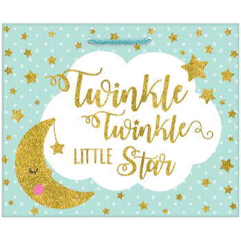 Picture of LG GIFT BAG - TWINKLE LITTLE STAR