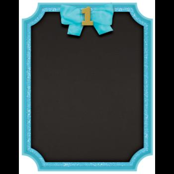 Image de DECOR - 1st BIRTHDAY GLITTER EASEL BLUE
