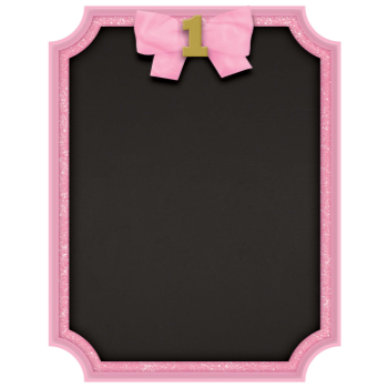 Image de DECOR - 1st BIRTHDAY GLITTER EASEL - PINK