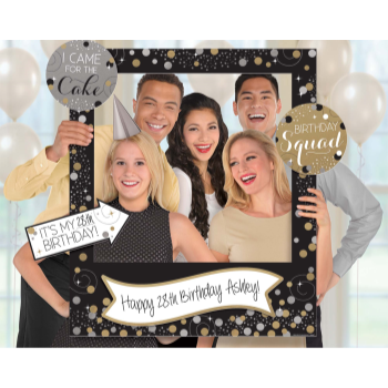 Picture of DECOR - SPARKLING CELEBRATION CUTOMIZABLE GIANT PHOTO FRAME