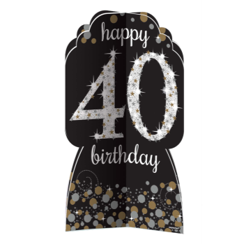 Picture of 40th SPARKLING CELEBRATION DECO KIT