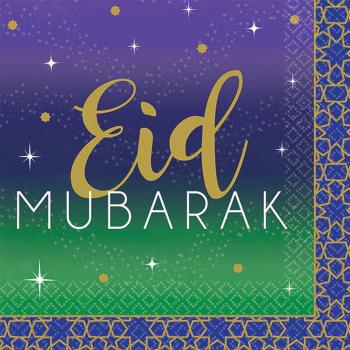 Image de EID CELEBRATION NAPKIN - EID MUBARAK