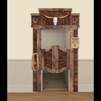 Image de DECOR - WESTERN FUNCTIONAL SALOON DOOR DECORATION