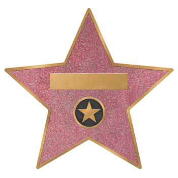 Image de GLITZ & GLAM STAR DECAL CLINGS