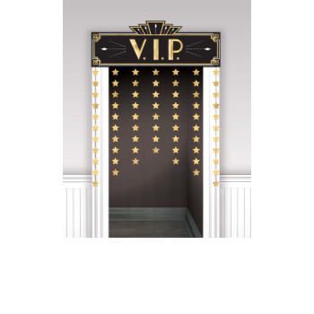 Image de GLITZ & GLAM DECORATIVE DOOR CURTAIN - VIP