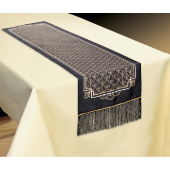 Image de GLITZ & GLAM FABRIC TABLE RUNNER