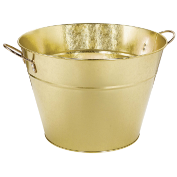 Picture of GOLD - METAL PARTY TUB