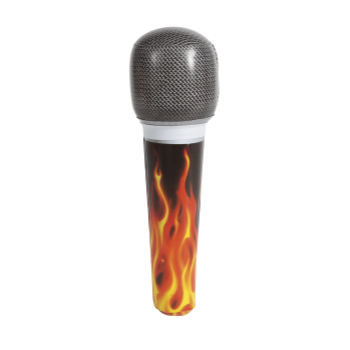 "Image de INFLATABLE 8"" MICROPHONE"