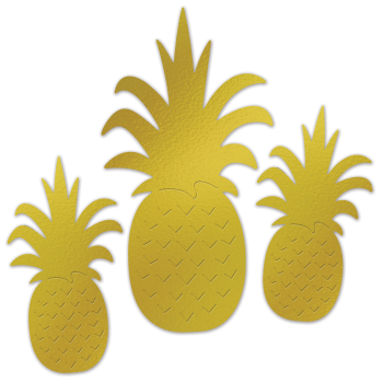 Picture of FOIL PINEAPPLE SILHOUETTES