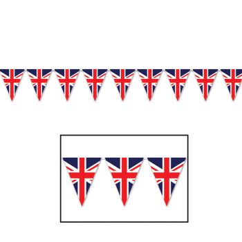Picture of UNION JACK PENNANT BANNER