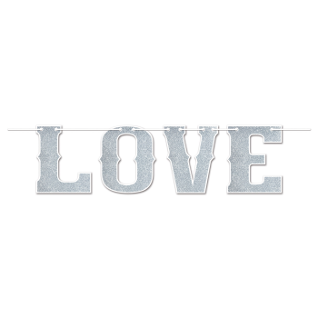 Picture of GLITTERED LOVE STREAMER