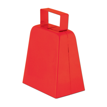 Picture of SPORTS - COWBELLS - RED