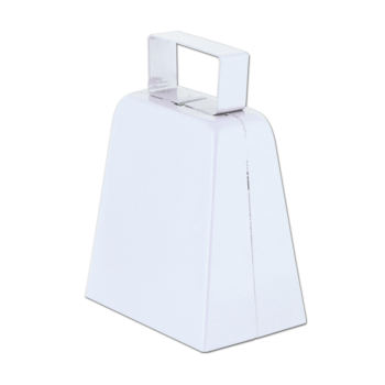 Picture of SPORTS - COWBELLS  - WHITE