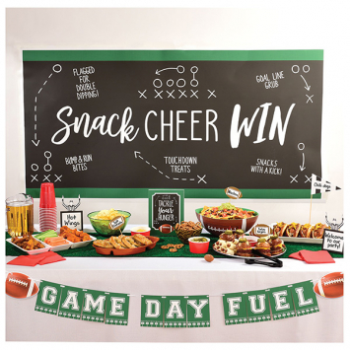 Picture of FOOTBALL DELUXE BUFFET DECORATING KIT