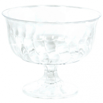 Picture of CLEAR PEDESTAL BOWL - 24CT